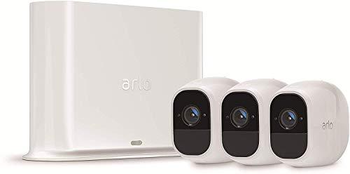 Arlo Pro2 Überwachungskamera & Alarmanlage, 1080p HD, 3er Set,...