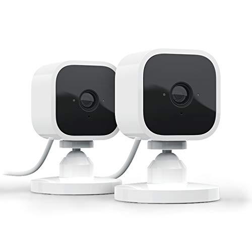 Blink Mini – eine kompakte, intelligente Plug-in-Überwachungskamera...