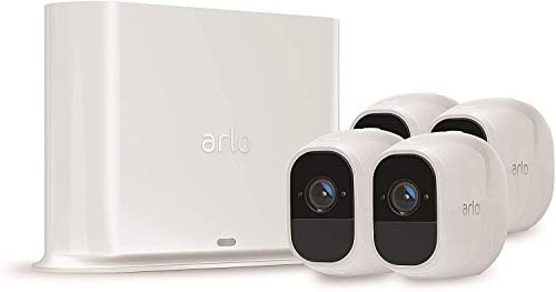 Arlo Pro2 Überwachungskamera & Alarmanlage, 1080p HD, 4er Set,...