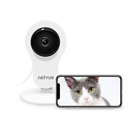 NETVUE Überwachungskamera Innen WLAN IP Kamera Babyphone mit...