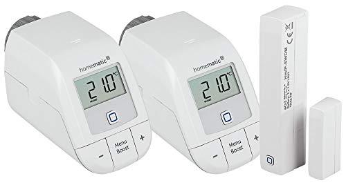 Homematic IP Erweiterungsset (Basic) mit zwei Heizkörperthermostaten...