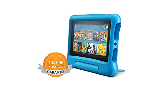 Fire7 Kids-Tablet, 7-Zoll-Display, 16GB, blaue kindgerechte...