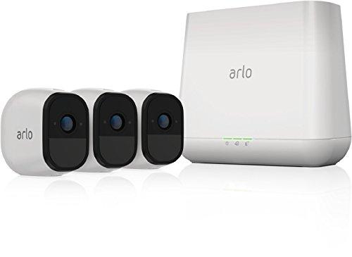 Arlo Pro Überwachungskamera & Alarmanlage, HD, 3er Set, Smart Home,...
