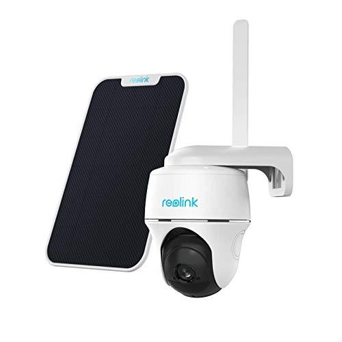 Reolink Go PT 3G/4G LTE Überwachungskamera Aussen + Solarpanel,...