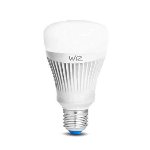 Smartes LED-Leuchtmittel von WiZ; Kolbenform A, weiß + farbig,...
