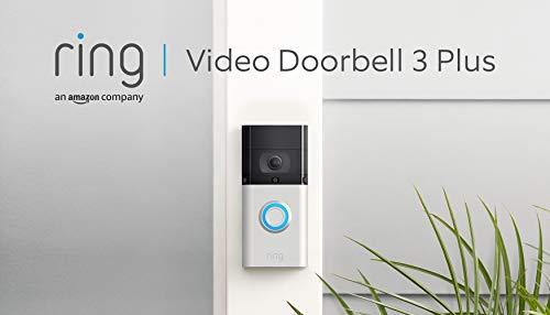 Ring Video Doorbell 3 Plus von Amazon | HD-Video (1080p), verbesserte...