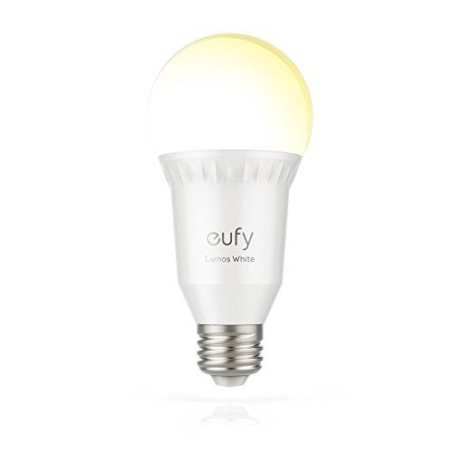 eufy Lumos Smart Wifi Dimmbare E27 LED-Lampe (2700K), Funktioniert...
