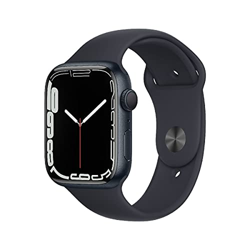 AppleWatch Series7 (GPS, 45mm) - Aluminiumgehäuse Mitternacht,...