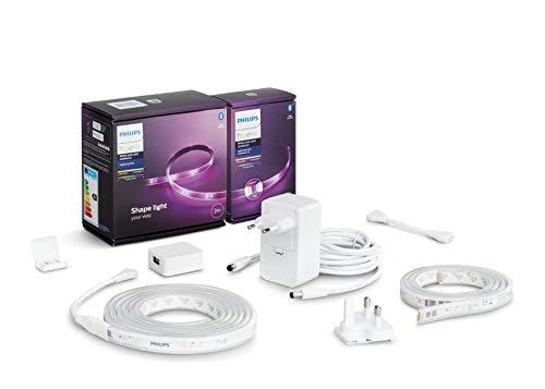 Philips Hue White & Col. Amb. Lightstrip Plus 2m Basis + Lightstrip...
