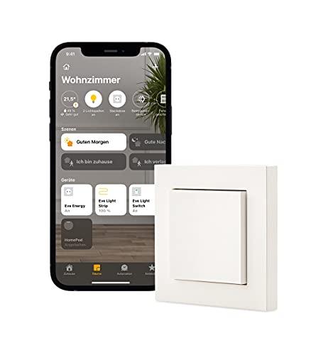 Eve Light Switch – Smarter Lichtschalter (Apple HomeKit), Einfach-,...