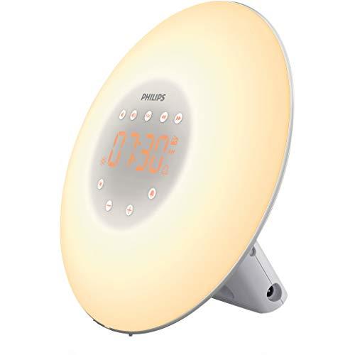 Philips Wake-up Light LED, Sonnenaufgangsfunktion, 2 natürlichen...