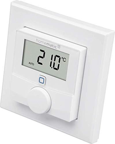 Homematic IP Smart Home Wandthermostat mit Luftfeuchtigkeitssensor –...