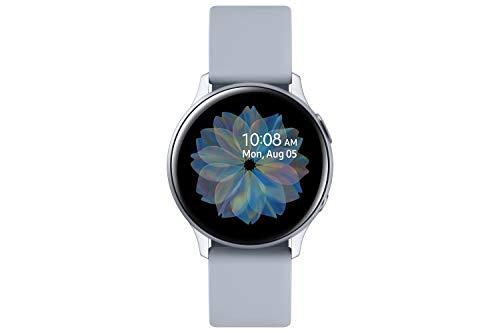 Samsung Galaxy Watch Active2, Fitnesstracker aus Aluminium, großes...