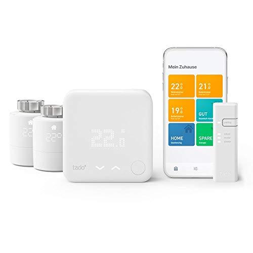 tado° intelligenter Thermostat – Starterset V3+ für die...
