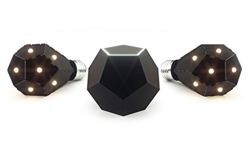 Nanoleaf Smarter Kit LED Lampe mit Ivy Hub Basisstation, 800 Lumen,...