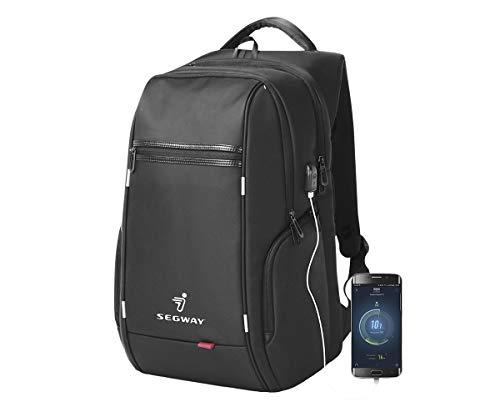 SEGWAY e-Scooter Pack Schwarze 15,6-Zoll-Notebooktasche mit...