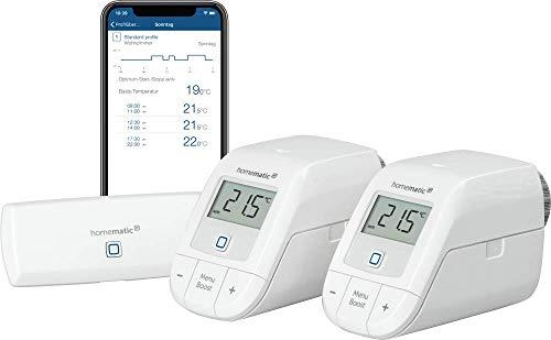 Homematic IP Smart Home Starter Set Heizen – WLAN, intelligente...