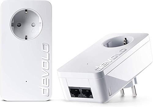 devolo dLAN 550 duo+ Starter Kit Powerline (500 Mbit/s Internet aus...