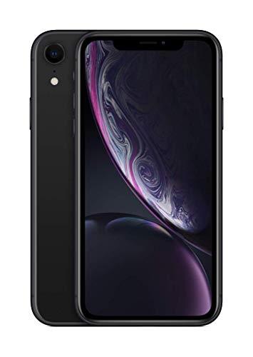Apple iPhone XR (64GB) - Schwarz (inklusive EarPods, Power Adapter)