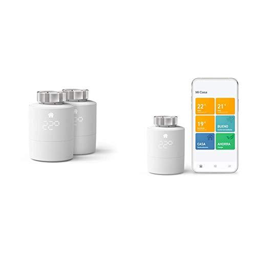 tado° Smartes Heizkörper-Thermostat Starter Kit V3+ (Intelligente...