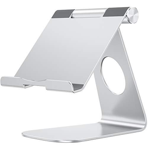 OMOTON Tablet Ständer, Tablet Stand, Verstellbare Tablet Halterung...