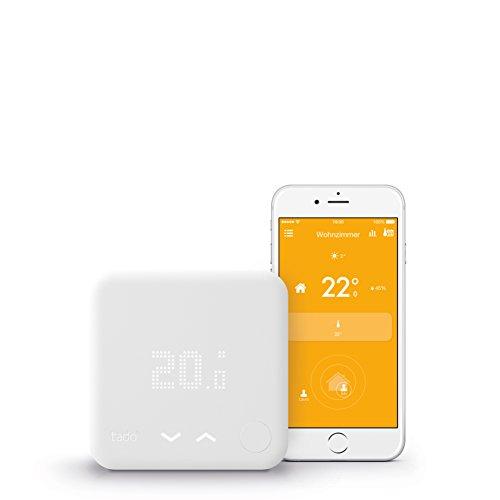 tado° Smartes Thermostat Starter Kit V3 für Wohnungen mit...