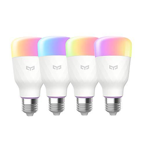 Yeelight A60 9W Smart LED Light 600lm rgbw Wifi lampe e27 220V,...