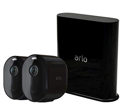 Arlo Pro3 WLAN Überwachungskamera & Alarmanlage, 2K UHD, 2er Set,...