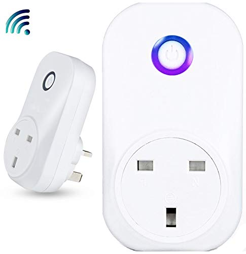 jcgt Wireless Smart Steckdose kompatibel mit AMAZON Alexa Echo &...