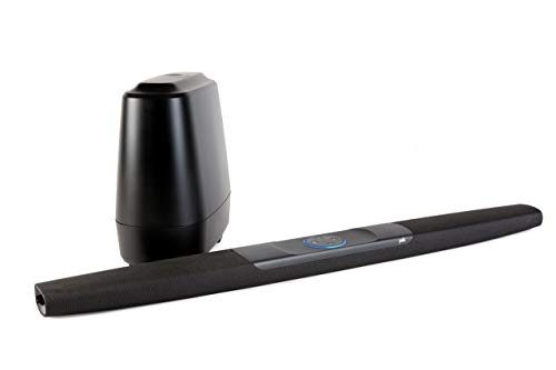 Polk Audio Command Bar Soundbar System mit Subwoofer, Amazon Alexa...