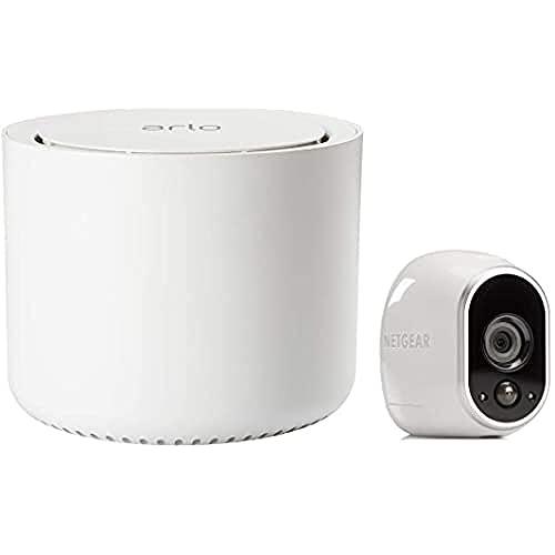 Arlo HD WLAN Überwachungskamera, 1er Set, kabellos, Innen / Aussen,...