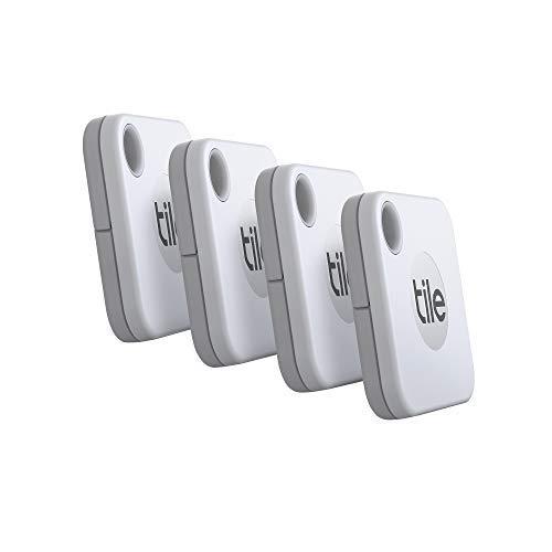 Tile Mate (2020) Bluetooth Schlüsselfinder, 4er Pack, 60m Reichweite,...