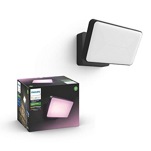 Philips Hue White & Color Amb. Discover LED Flutlicht, Schwarz, 2300lm
