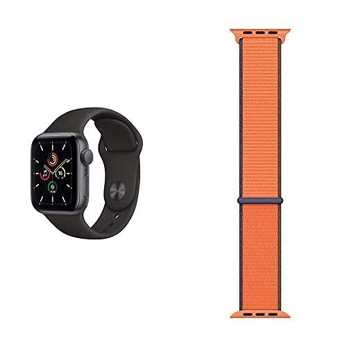 AppleWatch SE (GPS, 40mm) Aluminiumgehäuse Space Grau,...