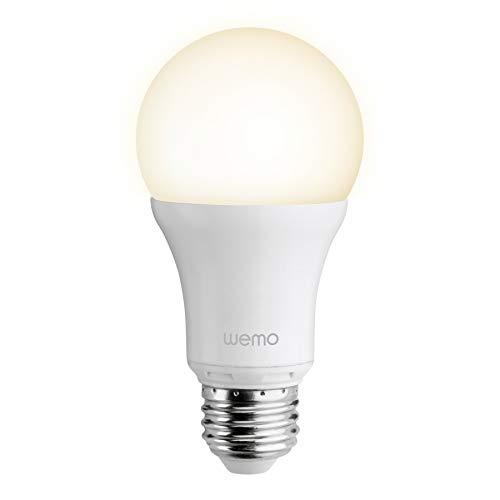 Belkin Wemo Smart LED Lampe E27, Smart Home, ermöglicht...