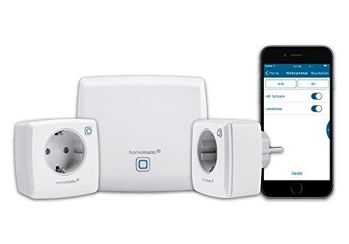 Homematic IP Smart Home Starter Set Licht, Phasenabschnitt, zum Dimmen...