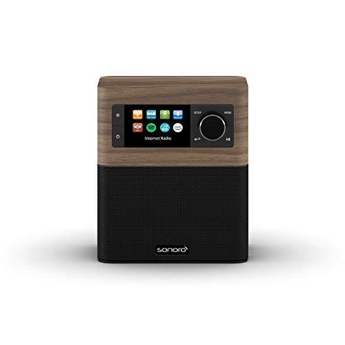 sonoro Stream Internetradio mit DAB Plus und Bluetooth (FM, MP3,...