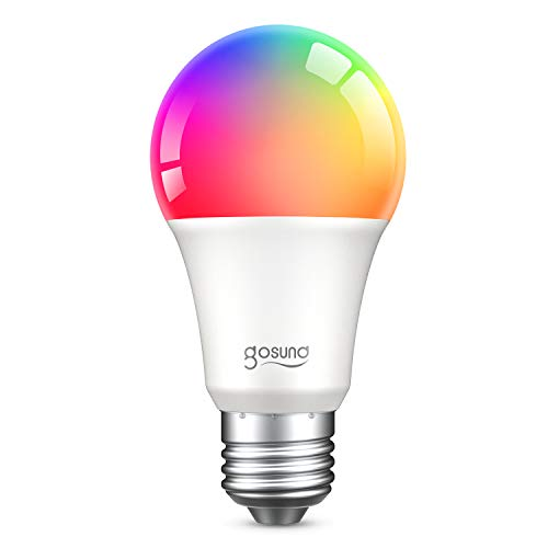 E27 Glühbirne, Gosund Smart Lampe Wlan Mehrfarbige Dimmbare...