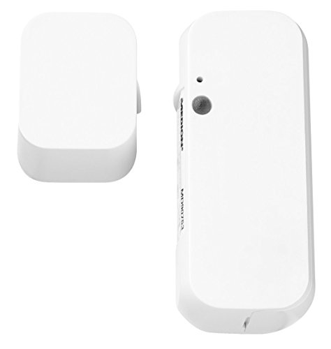 MEDION P85703 Smart Home Tür- und Fensterkontakt, erkennt geöffnete...