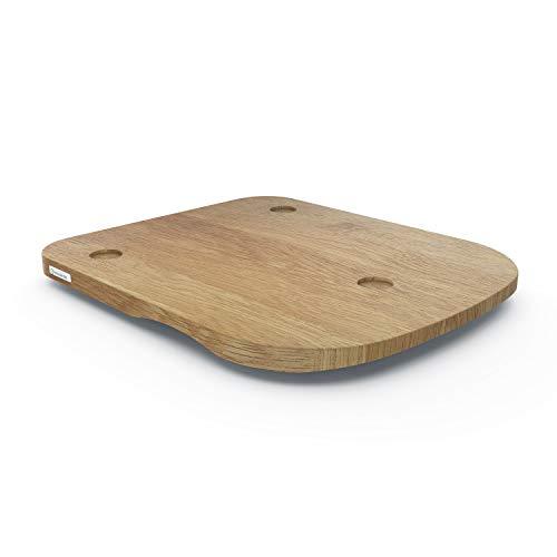 ThermoSlider® H V2 Plus   Gleitbrett aus Holz Eiche für Thermomix...