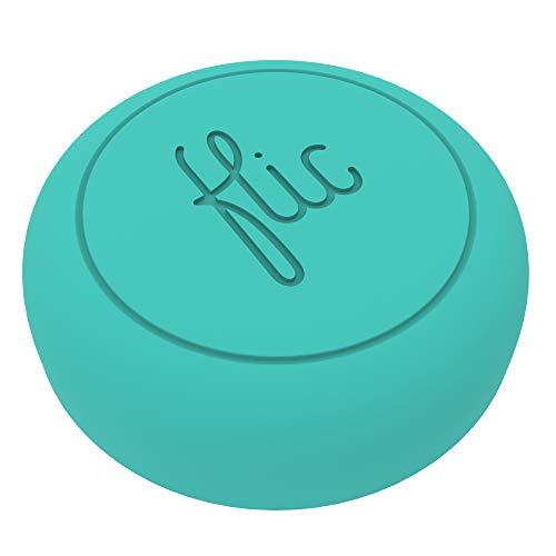 Flic-der Wireless Smart Button, Türkis - der Intelligenteste Knopf...