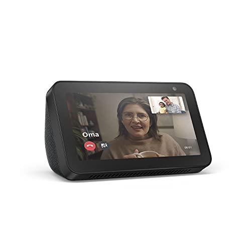 Echo Show 5 (1. Gen, 2019) – Smart Display mit Alexa – Durch Alexa...