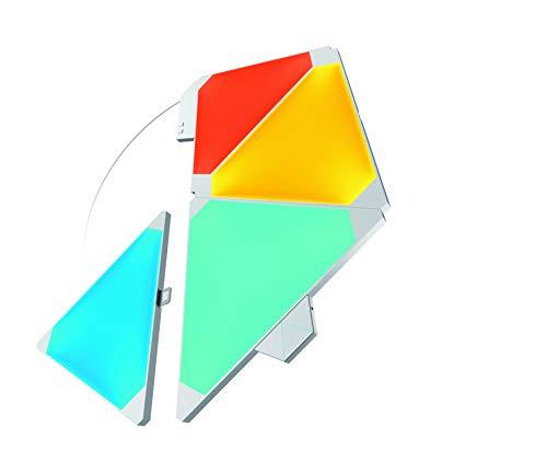 Nanoleaf Light Panels Rhythm Starter Kit - 4x Modulare Smarte LED mit...