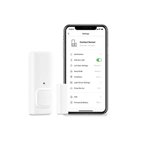 SwitchBot Kontaktsensor und Türalarm, drahtloser...