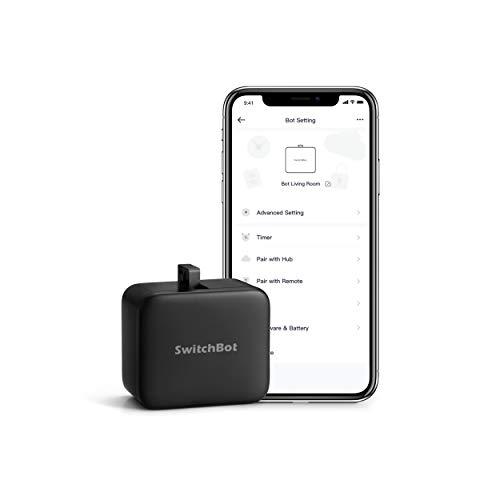 SwitchBot Smarter Kippschalter, Keine Verkabelung, App und Timer...