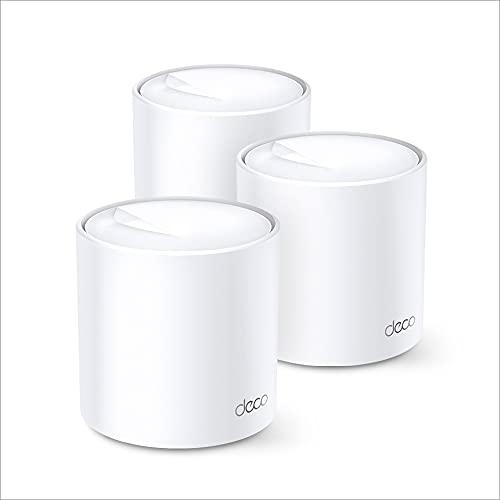 TP-Link Deco X20 AX1800 Wi-Fi 6 WLAN Mesh Set (Dualband 1800Mbit/s,...