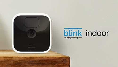 Blink Indoor – kabellose HD-Sicherheitskamera mit zwei Jahren...