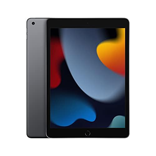 2021 AppleiPad (10,2', Wi-Fi, 64GB) - Space Grau (9. Generation)