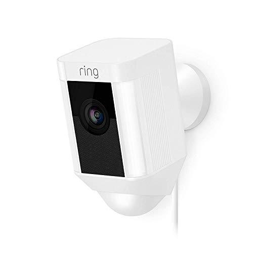 Ring Spotlight Cam Wired von Amazon | HD Sicherheitskamera mit LED...