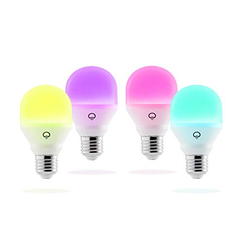 LIFX Mini (E27) smarte WLAN LED-Birne, einstellbar, mehrfarbig,...